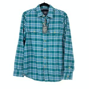 Grayers Heritage Flannel Shirt Button Front Plaid